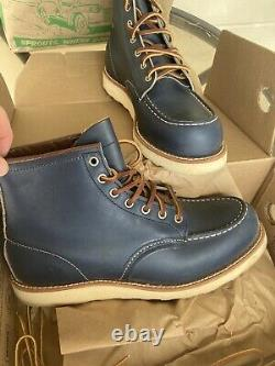 Red Wing Heritage 8882 Indigo Blue Barely Worn W Box! Extremely Rare Boot! 10d
