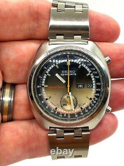 Seiko 5 Sports 6139 7012 Coffee and Cream extremely rare dial