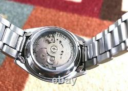 Seiko SNX429 Automatic 21 Jewels Military Field Men's Watch Extremely Rare