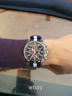 Seiko Sportura Chronograph Cal. 7T62 FC Barcelona Quartz Watch (extremely rare)