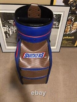 Snickers Golf Staff Tour Bag. Limited Edtion See Pictures Extremely Rare Bag