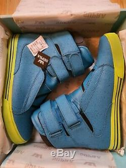 Supra Tk Society Blue Crackle (Size 10 UK) Deadstock/ Extremely Rare