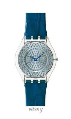 Swatch Specials Skin Sfz111pack Blue Lustrous Bliss! New! Extremely Rare