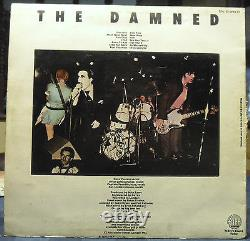 The DAMNED First LP Blue VG+ Vinyl Belgium in G+ Jacket Extremely Rare