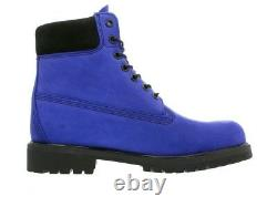 Timberland Blue Six Inch Premium Mens 10.5 extremely rare color