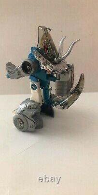 Transformers G1 Diaclone Slag Blue Face Chrome Vintage Lot EXTREMELY RARE
