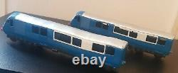 Triang Minic Push And Go Birmingham Pullman Vintage 2 Car Train Extremely Rare