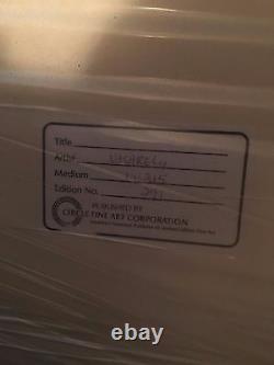 Vasarely Circa Blue Original Signed Edition EXTREMELY RARE