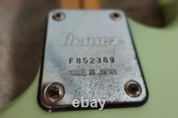 Vintage 1980s Ibanez Guitar Roadstar II Series Extremely Rare Atomic Green Color