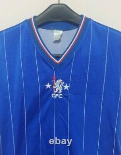 Vintage 1981-83 Le Coq Sportif Chelsea FC Home Shirt Original Extremely Rare