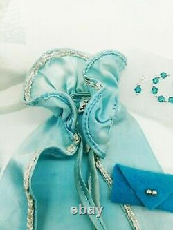 Vintage Barbie The Royal Ball Blue Gown & Cape Extremely Extremely Rare Extras