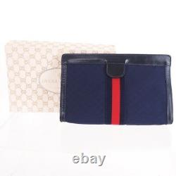 Vintage Gucci Micro GG Extremely Rare Mint Clutch Bag. NFV4987