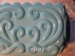 Vintage Imperial Blue Milk Large Compote! Absolutely GORGEOUS! EXTREMELY RARE