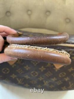 Vintage Louis Vuitton Speedy 35 Hand Bag Monogram Canvas Extremely Rare Find