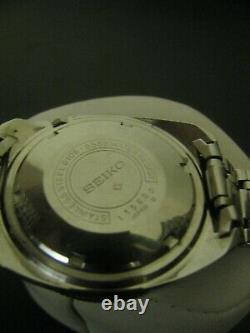Vintage Seiko 6106-8589 Chevron Cobalt blue dial, automatic extremely rare