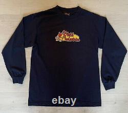 Vintage World Industries Skateboards Long Sleeve Shirt Devil Extremely Rare