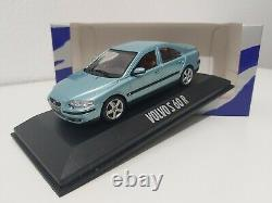 Volvo S60 R Turquoise Blue 143 Minichamps Dealer Edition Extremely Rare