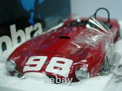 WOW EXTREMELY RARE AC Shelby Cobra 260 #098 B Krause LA GP USRRC 1962 118 Exoto