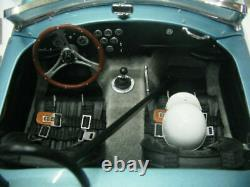 WOW EXTREMELY RARE AC Shelby Cobra 260 T Roadster 1962 Driving School 118 Exoto
