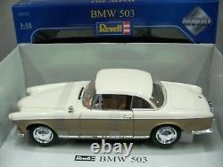 WOW EXTREMELY RARE BMW 503 Coupe 3.2 V8 Two Tone Cream/Beige 118 Revell-502/507