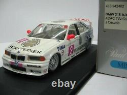 WOW EXTREMELY RARE BMW E36 318iS #2 Cecotto Winner SPA 1994 STW 143 Minichamps