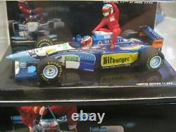 WOW EXTREMELY RARE Benetton B195 Schumacher Alesi Tx Canada 1995 143 Minichamps