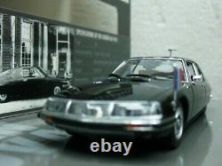 WOW EXTREMELY RARE Citroen SM V6 French Ambassador W Germany 143 Minichamps-CX