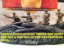 WOW EXTREMELY RARE Conte WW2-080 5 Paras Fighting 82nd Airb Oprtion Boston-BNIB