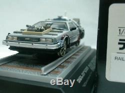 WOW EXTREMELY RARE DeLorean DMC12 1990 Back to Future III RR 143 Aoshima-Skynet
