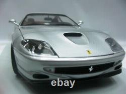 WOW EXTREMELY RARE Ferrari F550 Maranello 1996 Silver 118 UT-Minichamps/355/GTS
