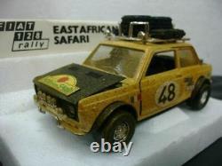 WOW EXTREMELY RARE Fiat 128 Rally S16 1.3L EA Safari 1973 124 Polistil/125/125