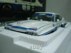 WOW EXTREMELY RARE Ford Capri RS3100 #2 Stommelen Eifel DRM 1974 118 Minichamps