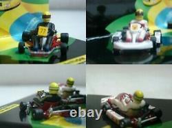 WOW EXTREMELY RARE Kart Senna Go Kart Set 1982 & 1993 ASC #14 143 Minichamps