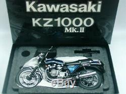 WOW EXTREMELY RARE Kawasaki KZ 1000 Mk. II 1978 Blue 112 Wit's-Minichamps