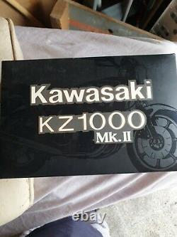WOW EXTREMELY RARE Kawasaki z1000 mk11 Blue 112 Wit's-Minichamps