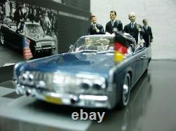WOW EXTREMELY RARE Lincoln Continental X-100 Kennedy Berlin 1963 143 Minichamps
