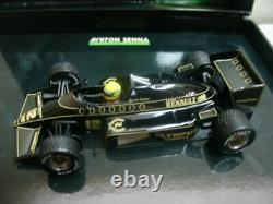 WOW EXTREMELY RARE Lotus 97T Renault Senna Winner Estoril 1985 143 Minichamps