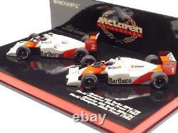 WOW EXTREMELY RARE McLaren WC Set #1 MP4/2B & MP4/2C Prost 85/86 143 Minichamps