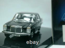 WOW EXTREMELY RARE Mercedes W115/8 220D Black 143 Auto Art-280C/W114/Minichamps