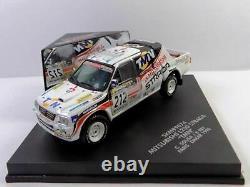 WOW EXTREMELY RARE Mitsubishi L200 Strada #212 Dakar 1998 143 Vitesse-Spark