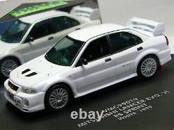 WOW EXTREMELY RARE Mitsubishi Lancer Evo 6 VI RHD Turbo White 143 Vitesse-Spark