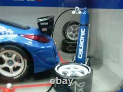 WOW EXTREMELY RARE Nissan 350Z Fairlady Z33 #12 JGTC 2004 Pit Stop 124 Hotworks