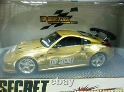 WOW EXTREMELY RARE Nissan 350Z Fairlady Z33 Gold Top Secret Camber 124 Hotworks