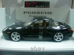 WOW EXTREMELY RARE Porsche 996 911 C2 Coupe 300HP 1998 Black 118 UT-993/AutoArt