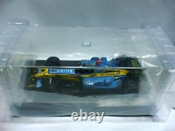 WOW EXTREMELY RARE Renault R25 Alonso Dirty Brazil 2005 Champion 118 Hot Wheels