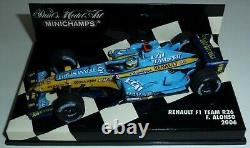 WOW EXTREMELY RARE Renault R26 Fer Alonso GP Nürburgring 2006 143 Minichamps