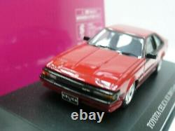 WOW EXTREMELY RARE Toyota 1985 Celica XX 2000 G Turbo RHD Red 143 Aoshima-DISM