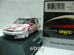 WOW EXTREMELY RARE Vauxhall Vectra #8 Cleland B' Half BTCC 1997-143 Onyx-Spark