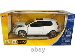 WOW EXTREMELY RARE Volkswagen Golf Mk. 5 GTi Tuning 2007 White 124 Jada