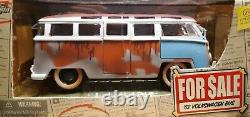WOW EXTREMELY RARE Volkswagen T1 Bulli Samba Bus 1962 Barn Find Sale 124 Jada